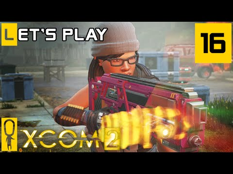 XCOM 2 - Part 16 - Carmine The Beast - Let