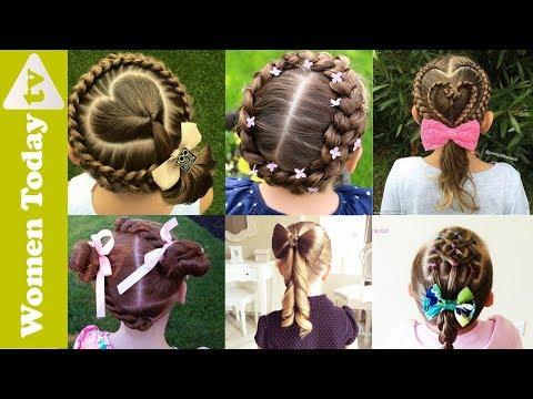🌺 Những Kiểu Tóc Đẹp Cho Bé Mẹ Nhìn Là Mê   Tết Tóc Đẹp   Cute Hairstyles For Little Girls