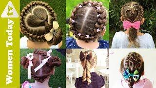 🌺 Những Kiểu Tóc Đẹp Cho Bé Mẹ Nhìn Là Mê | Tết Tóc Đẹp | Cute Hairstyles For Little Girls