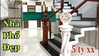 Bán nhà Gò Vấp tp.HCM[53🏡] nhà phố thiết kế đẹp đường Quang Trung p8 giá rẻ.5 tỷ 280 tl