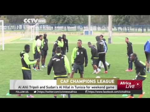 Libya's Al Ahli Tripoli, Sudan's Al Hilal in Tunisia for weekend game