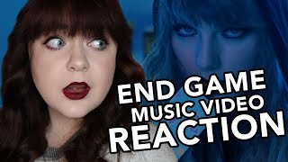 Taylor Swift - End Game ft. Ed Sheeran, Future Music Video (REACTION)