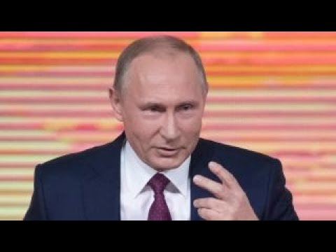 Putin denies election meddling at year-end news conference