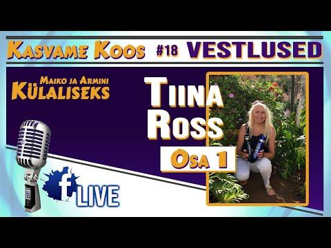 #eneseareng #tervis #kasvamekoos #vestlus #vesi #18 OSA 1 - Vesi Kui Tervis- Räägib Meile Tiina Ross