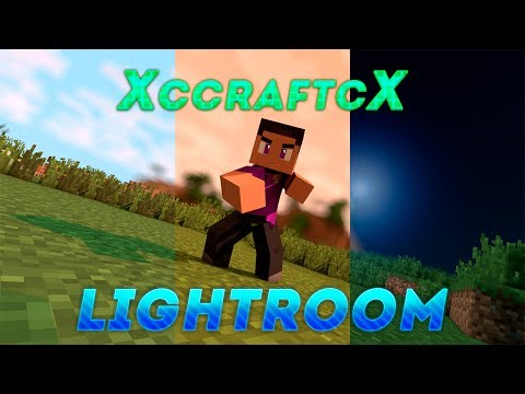 customizable minecraft lightroom by flash  shadowzz free