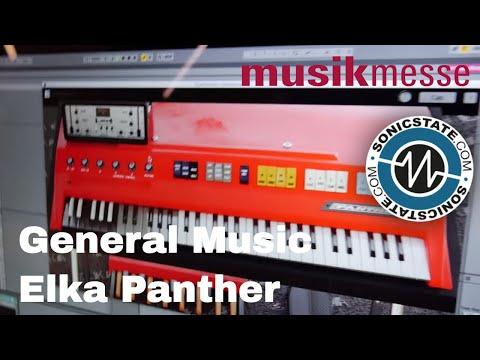 MESSE 2018: General Music Elka Panther Organ Recreation