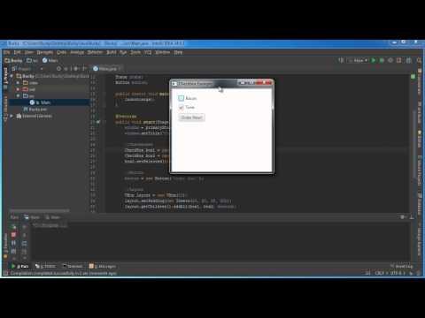 JavaFX Java GUI Tutorial - 11 - CheckBox