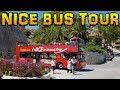 NICE - LE GRAND TOUR - Bus City Tour 4K
