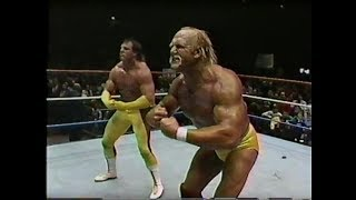 Hulk Hogan, Brutus Beefcake vs. Mr. Perfect, Genuis 2-19-1990