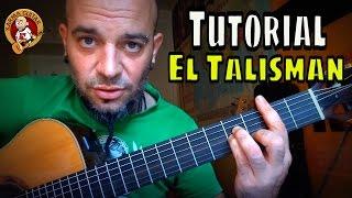 Como tocar EL TALISMAN de ROSANA; Tutorial KARMA GUITAR