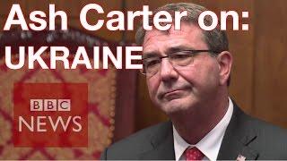 Ukraine: Summer offensive a 'serious possibility' Ashton Carter - BBC News