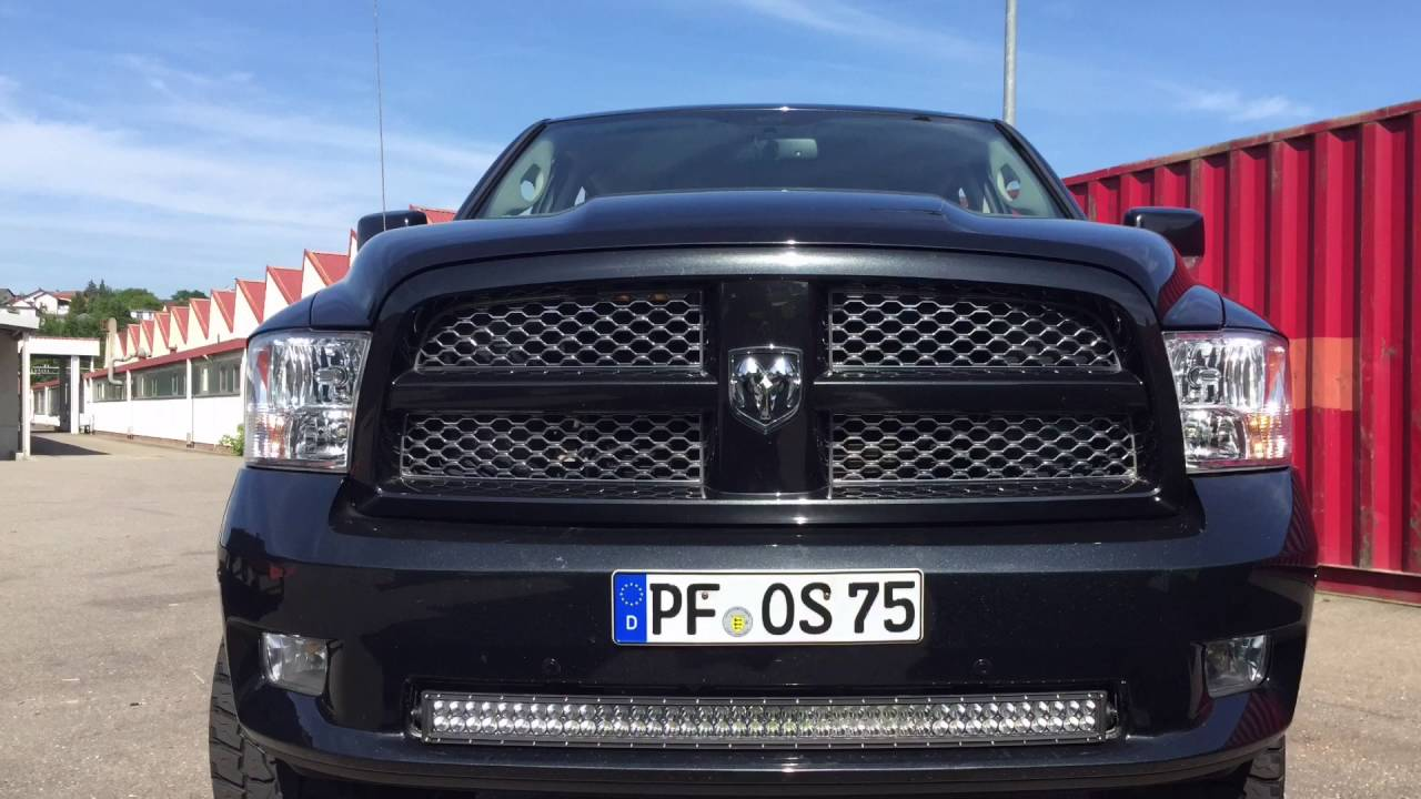 Dodge Ram Led Lightbar 20800 Lumen Youtube