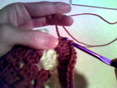 Crocheting On The Edge : How to Crochet - Ruffled Edge - YouTube