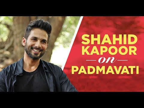 Exclusive conversation with Shahid Kapoor about Padmavati