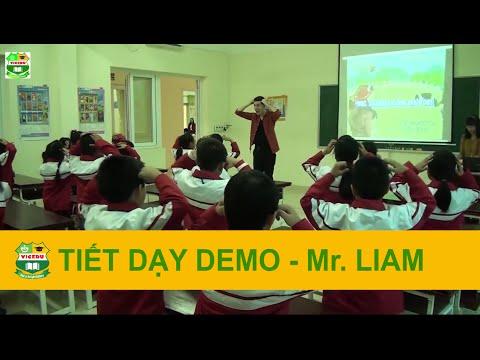 Tiết dạy Demo Tiểu học - Mr. Liam - Giáo viên bản ngữ