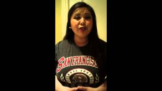 Allison Joy Rondez: 49er Golden Voice Submission