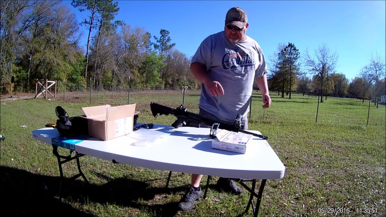 Installing and shooting the Double Tap Trigger  T&E trigger from 904  outdoors