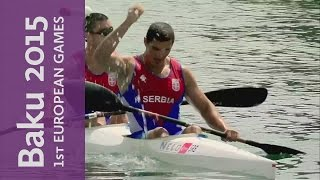 Serbia edge ahead of the field to win the Men