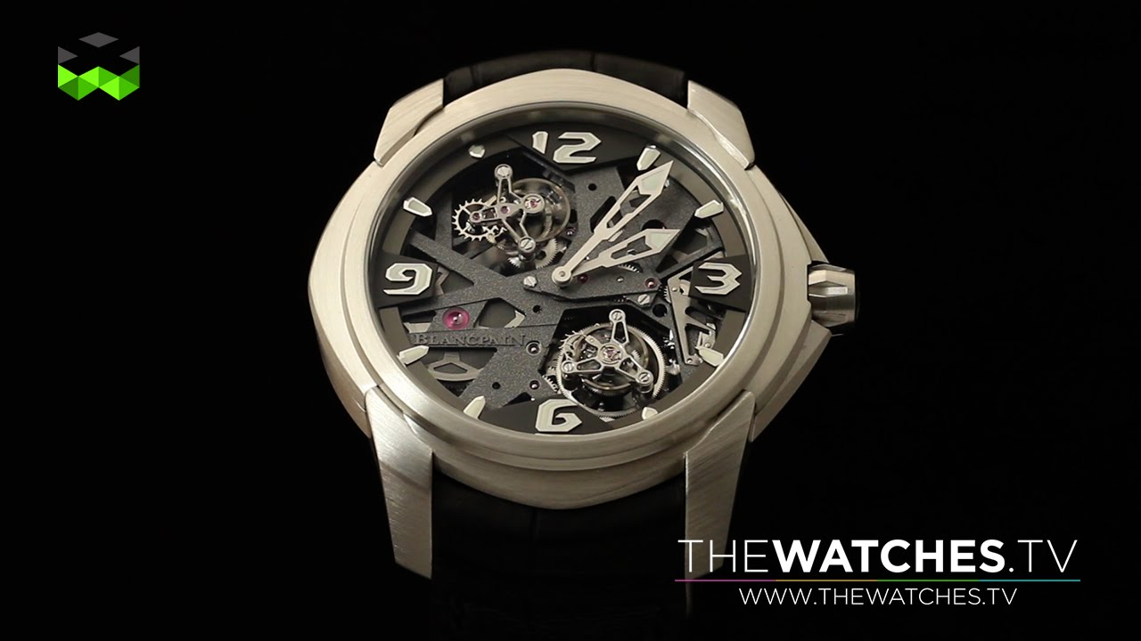 BLANCPAIN FIFTY FATHOMS - Rich Man Dive Watch - YouTube