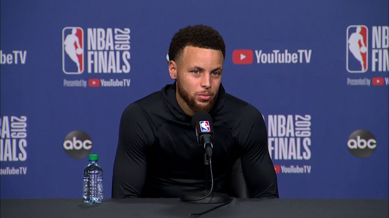 Stephen Curry Full Interview - Game 1 Preview | 2019 NBA Finals Media Availability