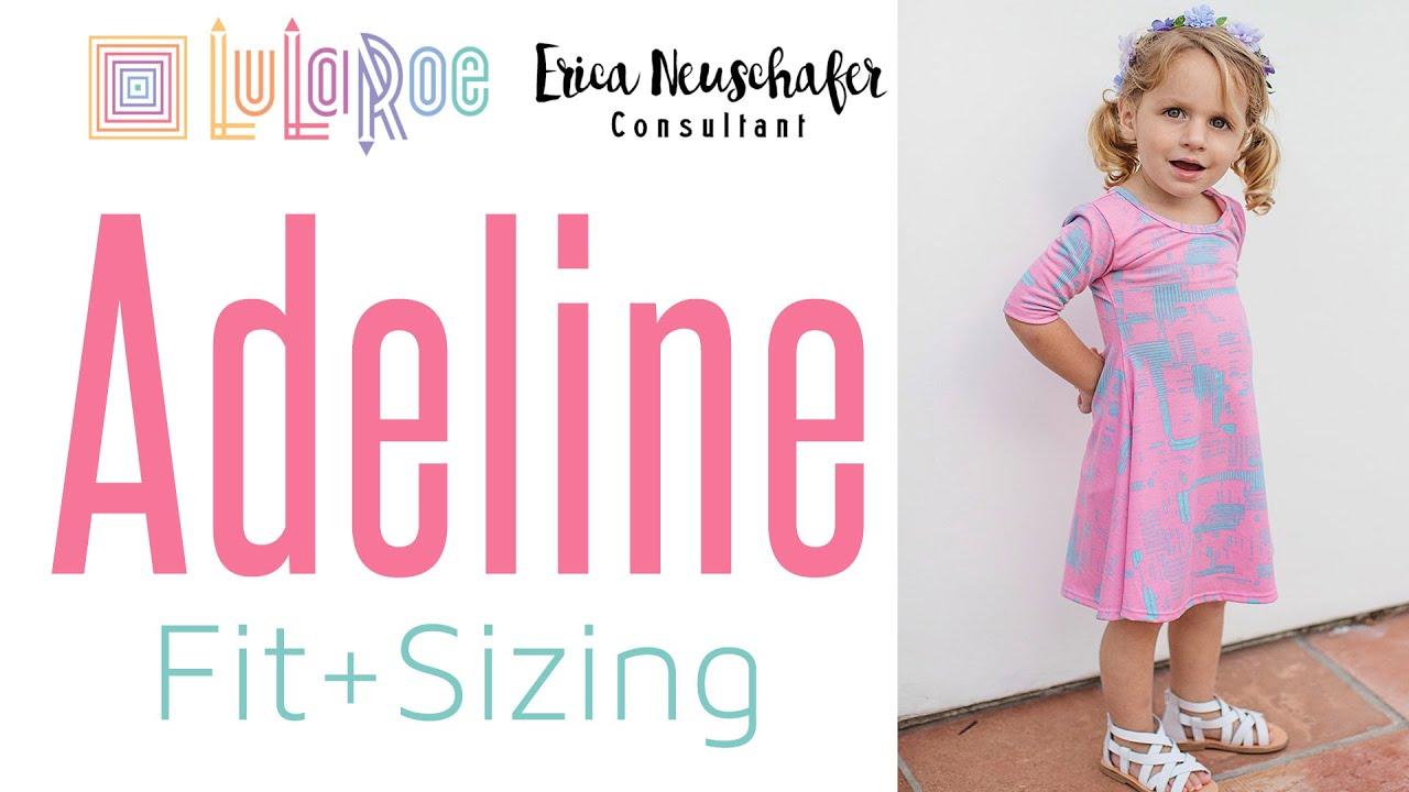 Lularoe Adeline Sizing Fit