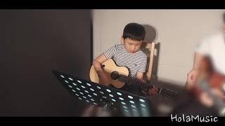 민우의 멋진  기타연주입니다!(Cover.동물농장)-올…
