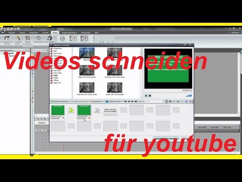 TUTORIAL - VSDC Free Video Editor Video schneiden - Film schneiden CUT Video bearbeiten