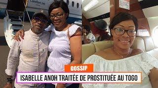 Isabelle Anoh traitée de prostituée au Togo