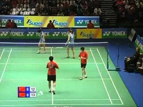 all england open 2008 Jing DU 3 Yang F YU vs Yili WEI 1 Yawen ZHANG All England Open 2008 Semi Final1
