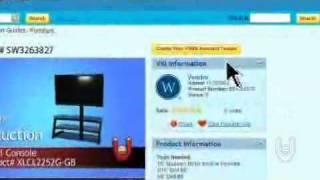 Xlcl2252g-gb Whalen Vas 3-in-1 Television Console