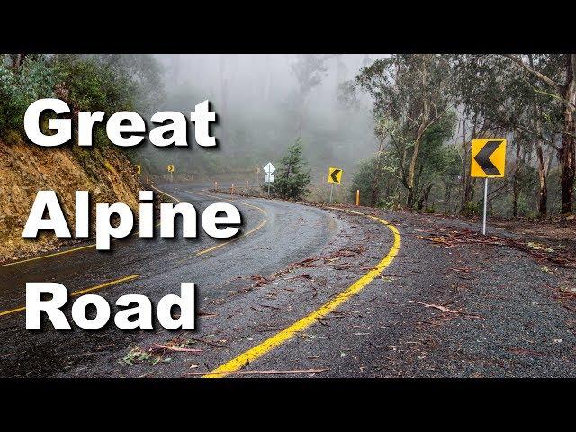 Motorcycle Trip around Australia - The Great Alpine Road (Ep 18)
