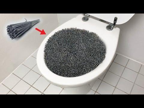 1000 Sparklers Vs Toilet