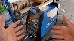 Primer dia cortando con Stahlwerk 50 Plasma cutter. Máquina de cortar.