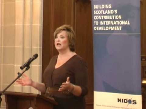 Minister for Culture and External Affairs Fiona Hyslop at the NIDOS AGM