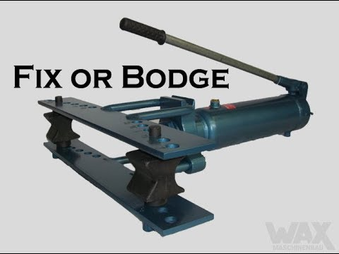 Fix or Bodge my Hydraulic Pipe Bender