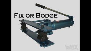 Gambar cover Fix or Bodge my Hydraulic Pipe Bender