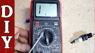 How to Test Spark Plugs Using a Basic Multimeter