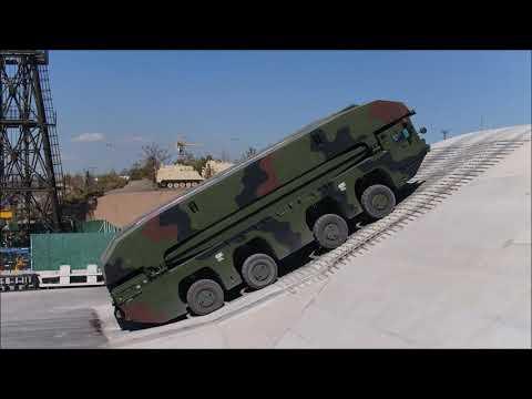 [양낙규의 Defence video]현대로템이 선보인 국내 첫 자주도하장비
