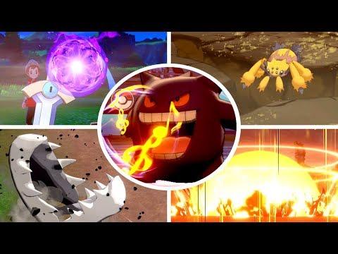 Pokémon Sword & Shield - All One-Hit KO Moves