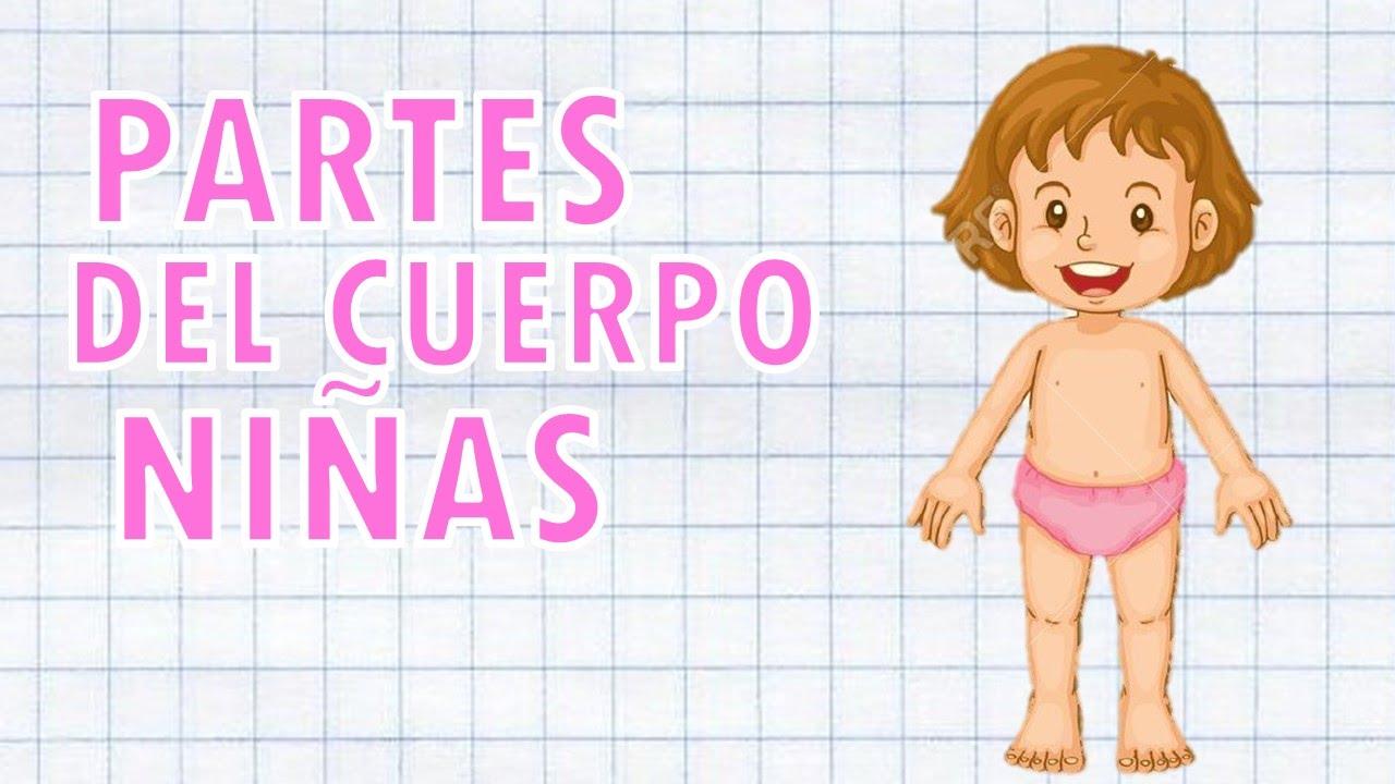 PARTES DEL CUERPO Niñas - YouTube