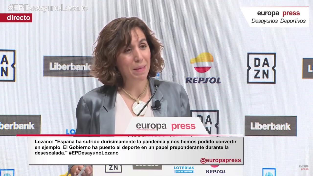 Irene Lozano, Presidenta del CSD, vuelve a confirmar la #RegulaciónProfesionalYA como prioridad