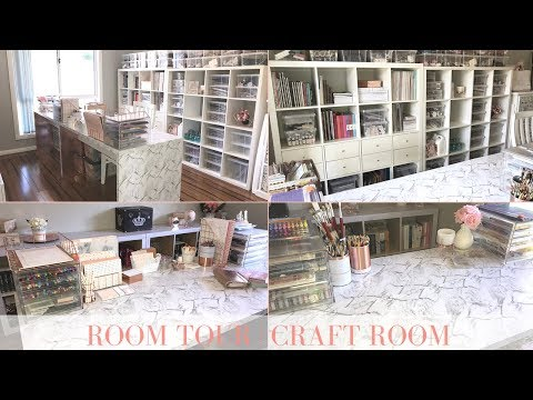 ROOM TOUR | CRAFT ROOM