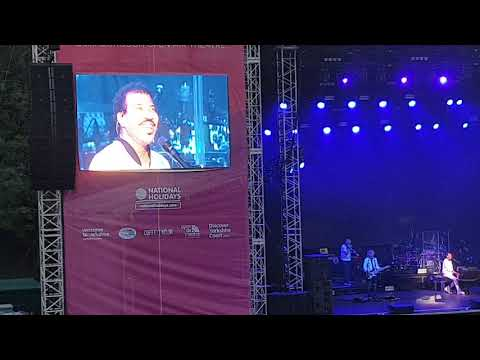 Lionel Richie - Three Times a Lady - Scarborough Open Air Theatre 19th June 2018