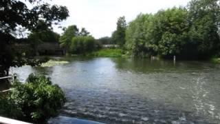 Dobbs Weir on the River Lea - Hertfordshire