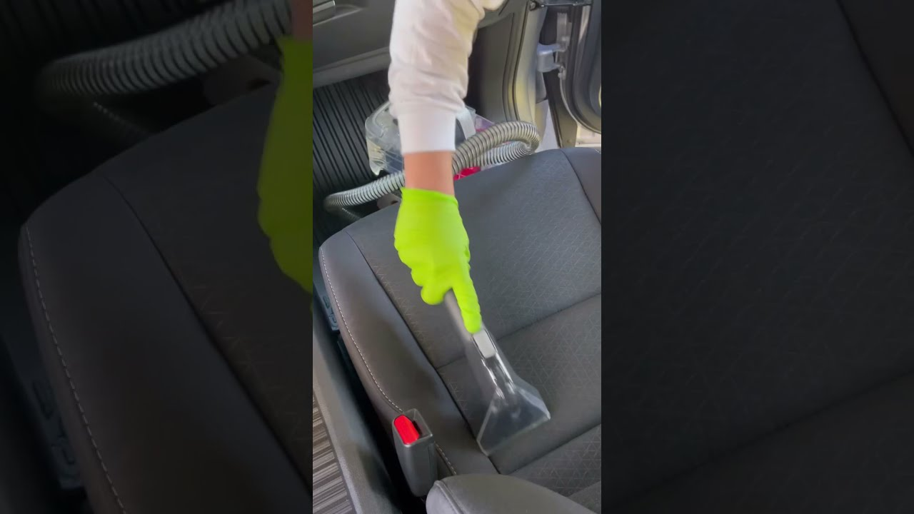 How To Clean Up Water Rings On Upholstery #shorts