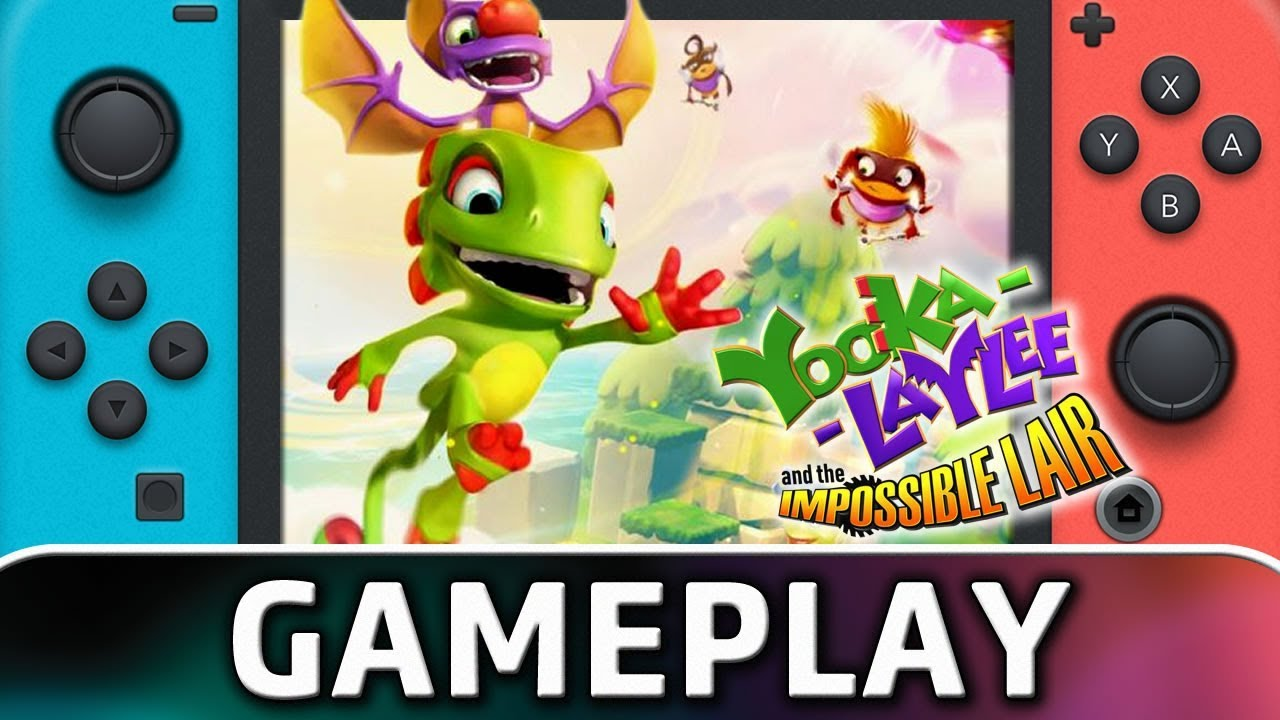 Yooka-Laylee and the Impossible Lair | First 15 Minutes on Nintendo Switch