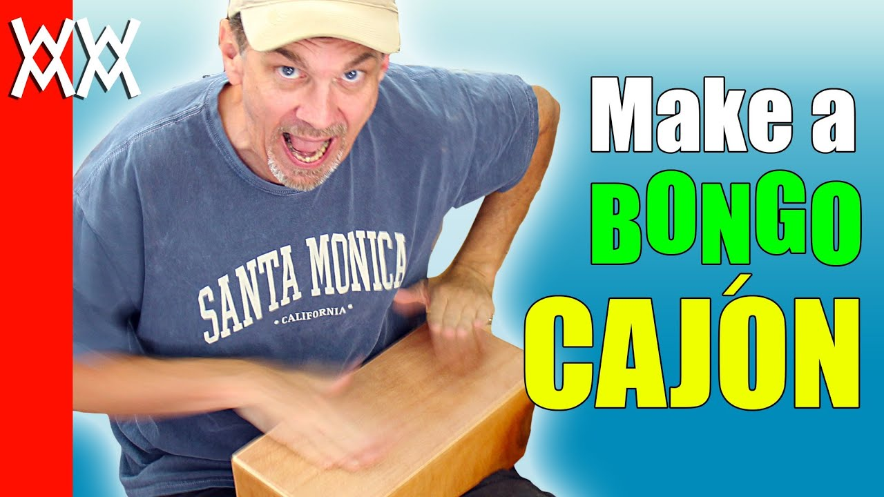... plywood bongo drum. Free plans, easy woodworking project. - YouTube
