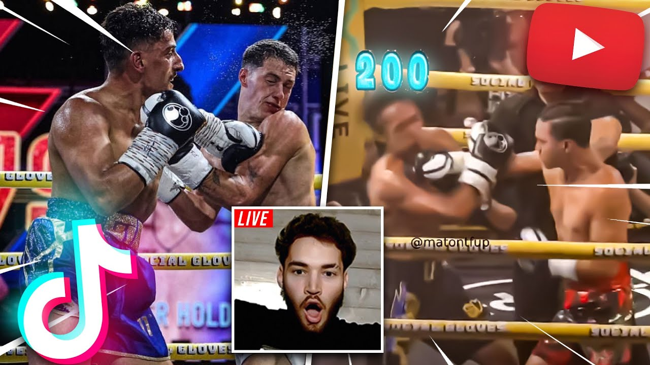 Adin Ross Reacts to TIKTOKERS vs Youtubers FIGHTS! (RIGGED?)