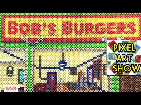 Perler Bead Bob's Burgers Tutorial - Pixel Art Show