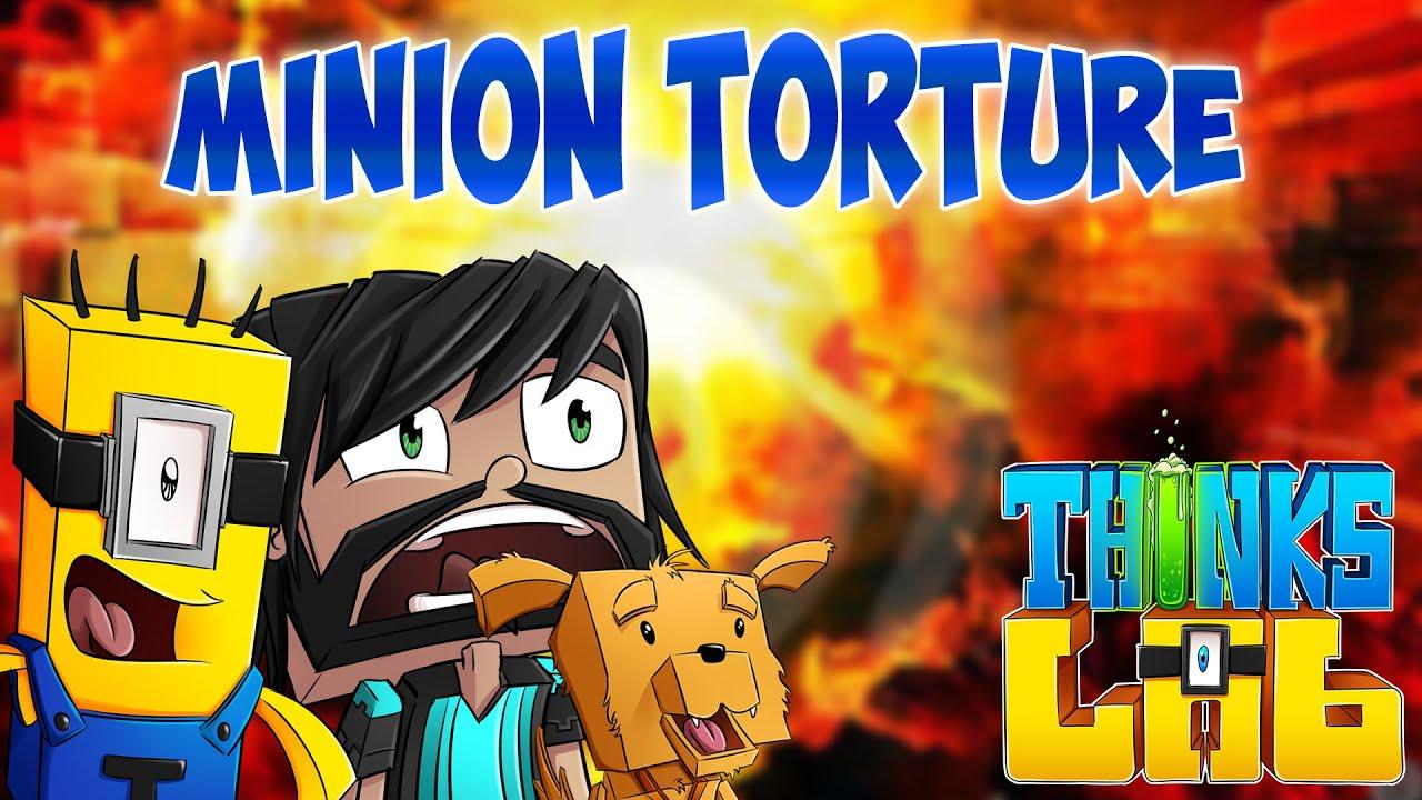 Minion Torture Chamber Minecraft Mods Thinks Lab Minecraft Roleplay Youtube